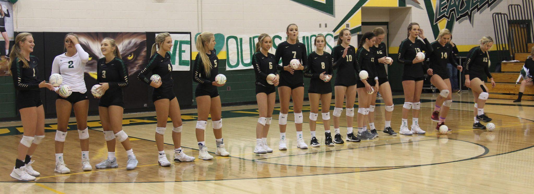 PHOTOS: VARSITY VOLLEYBALL SENIOR NIGHT