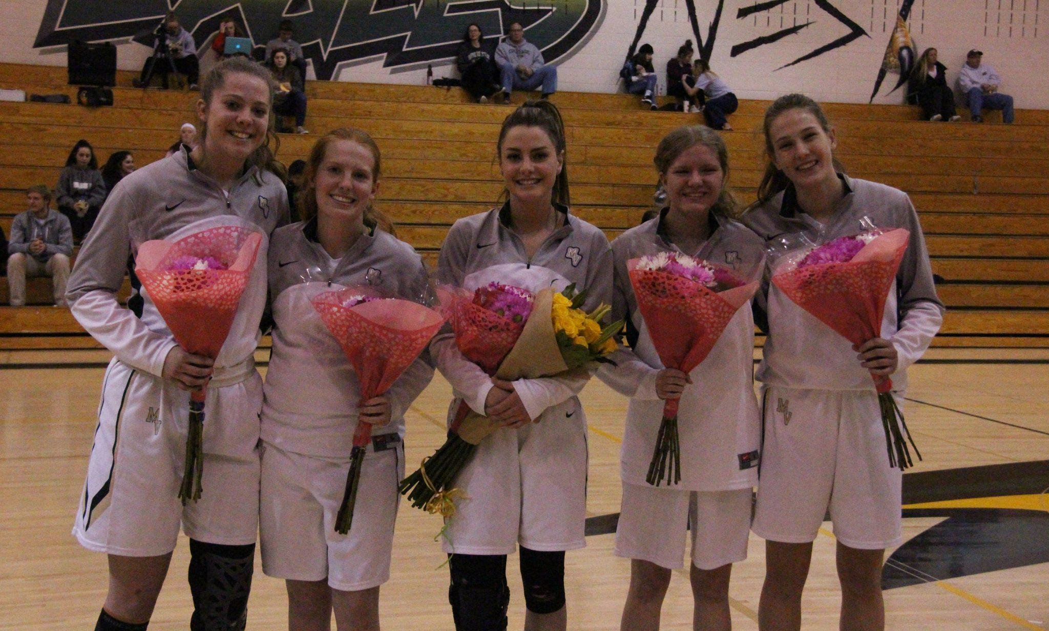 PHOTOS: Girls Varsity Basketball Senior Night