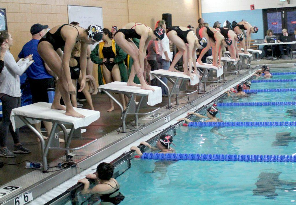 Vista vs. Regis Swim Meet