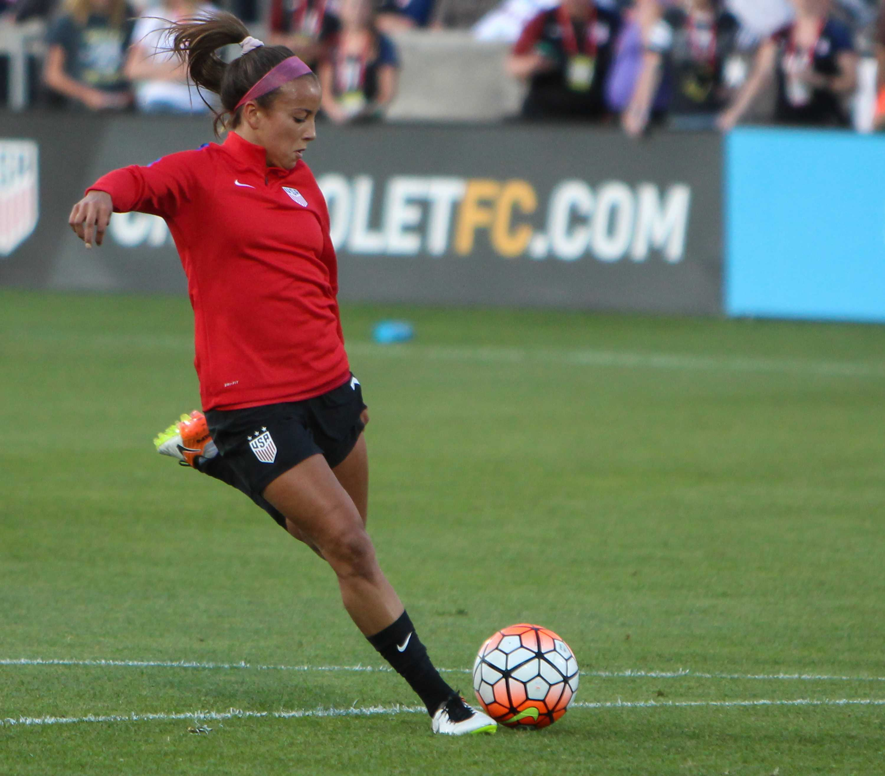 Mallory Pugh Scores First Olympic Goal