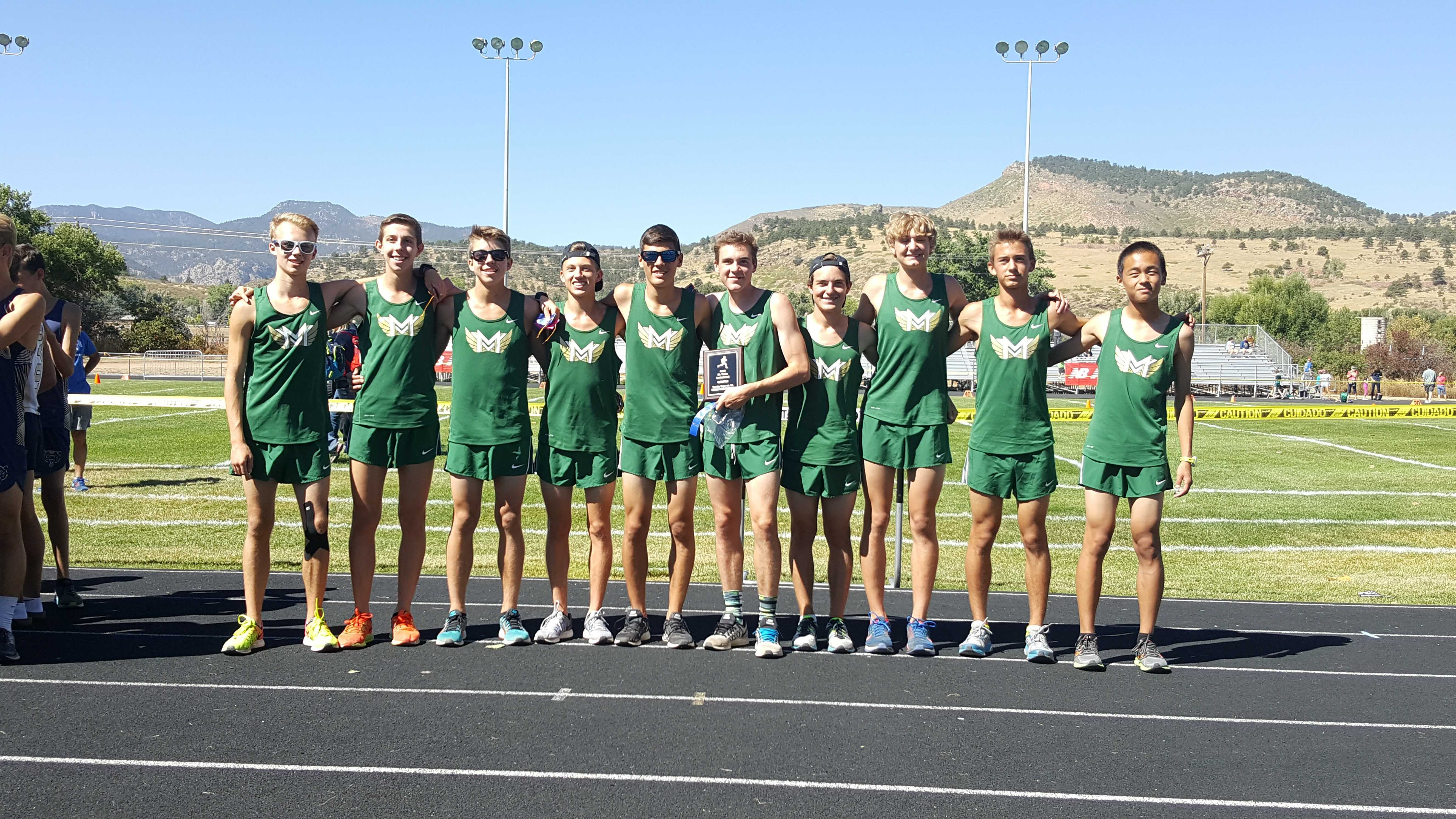 Cross Country at the St. Vrain Invitational Meet