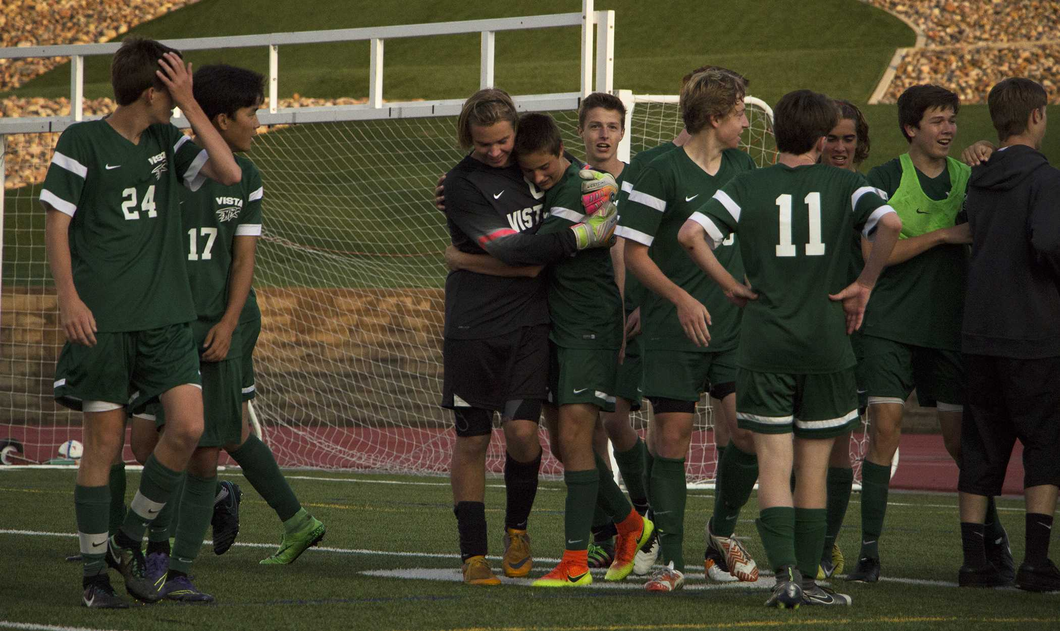 PHOTOS: Men's Varsity Soccer vs. Ponderosa