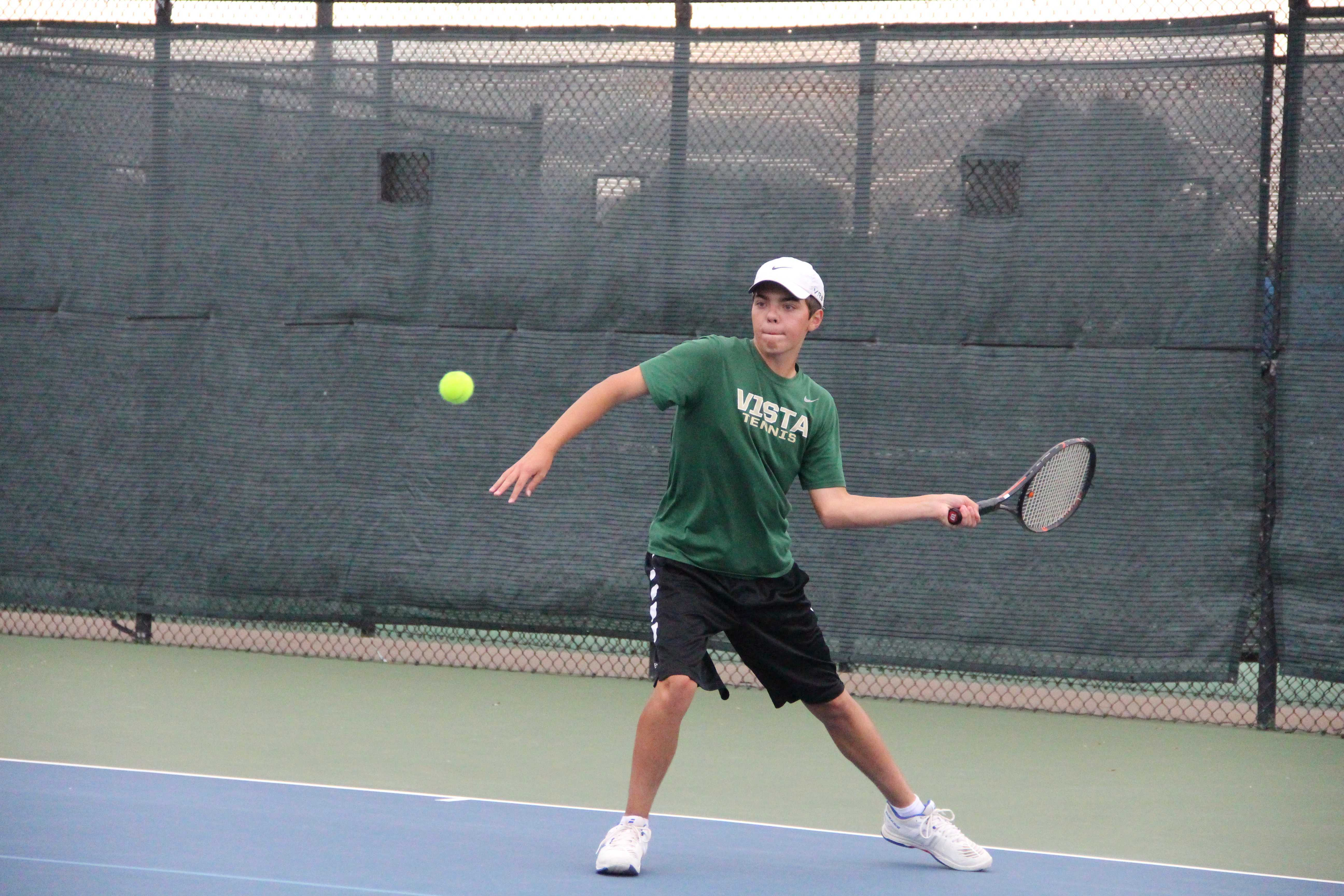 PHOTOS: Men's Varsity Tennis vs. ThunderRidge