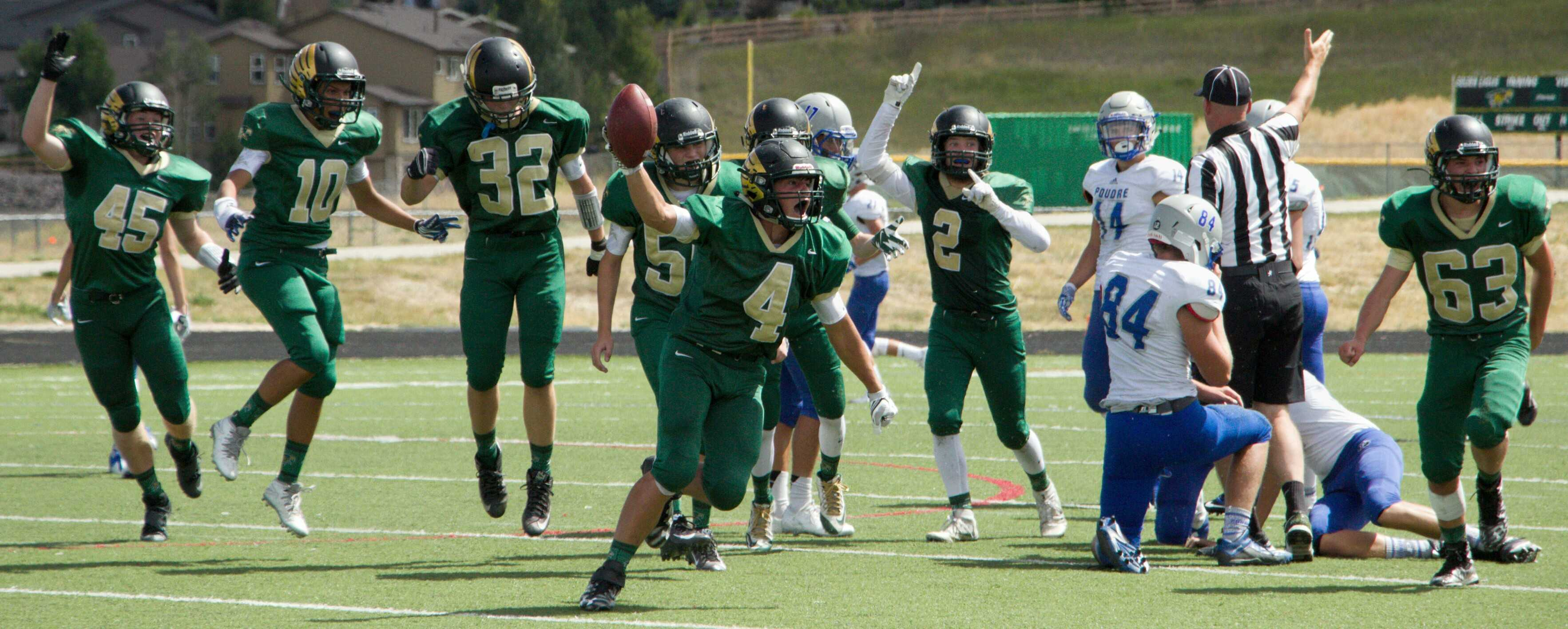 PHOTOS: JV Football vs. Poudre