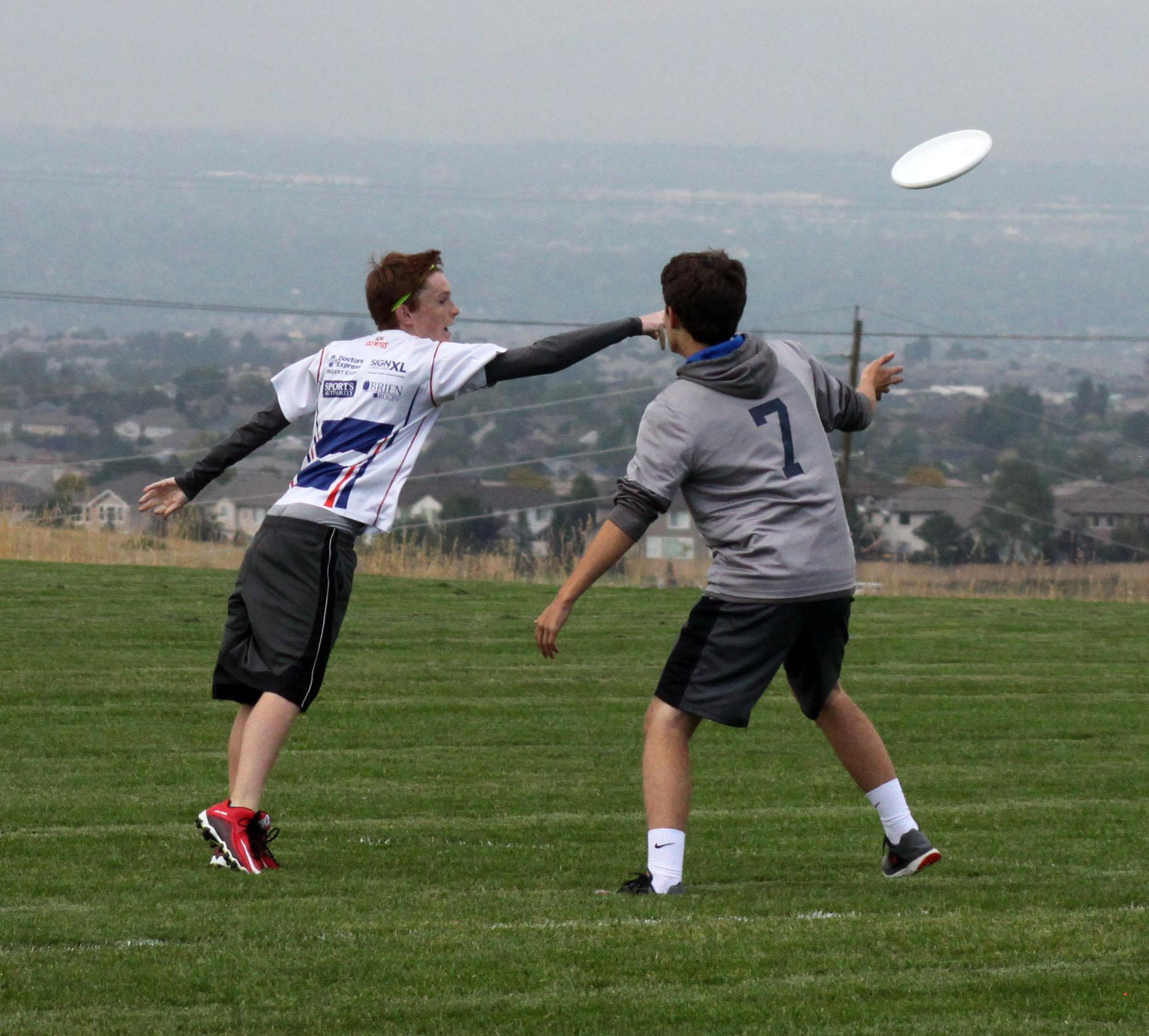 PHOTOS: Ultimate Frisbee vs. Littleton HS
