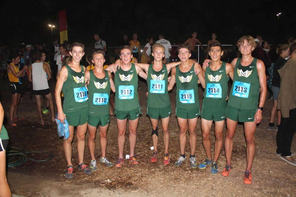Boys Cross Country Wins California Invitational