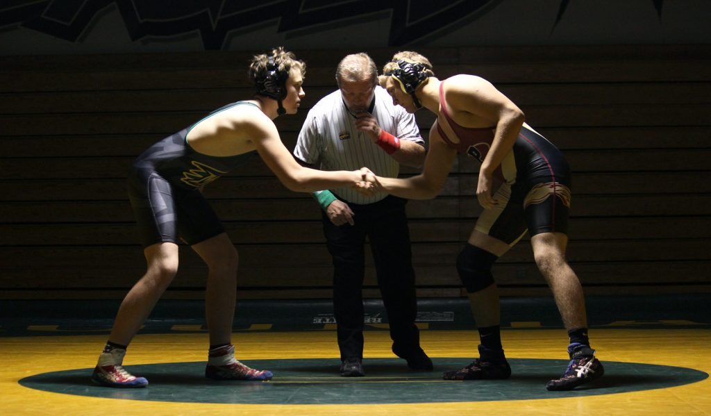 PHOTOS: Wrestling vs. Ponderosa