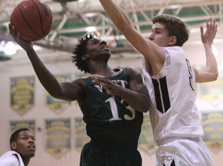 PHOTOS: Mens Varsity Basketball vs. Rock Canyon High School