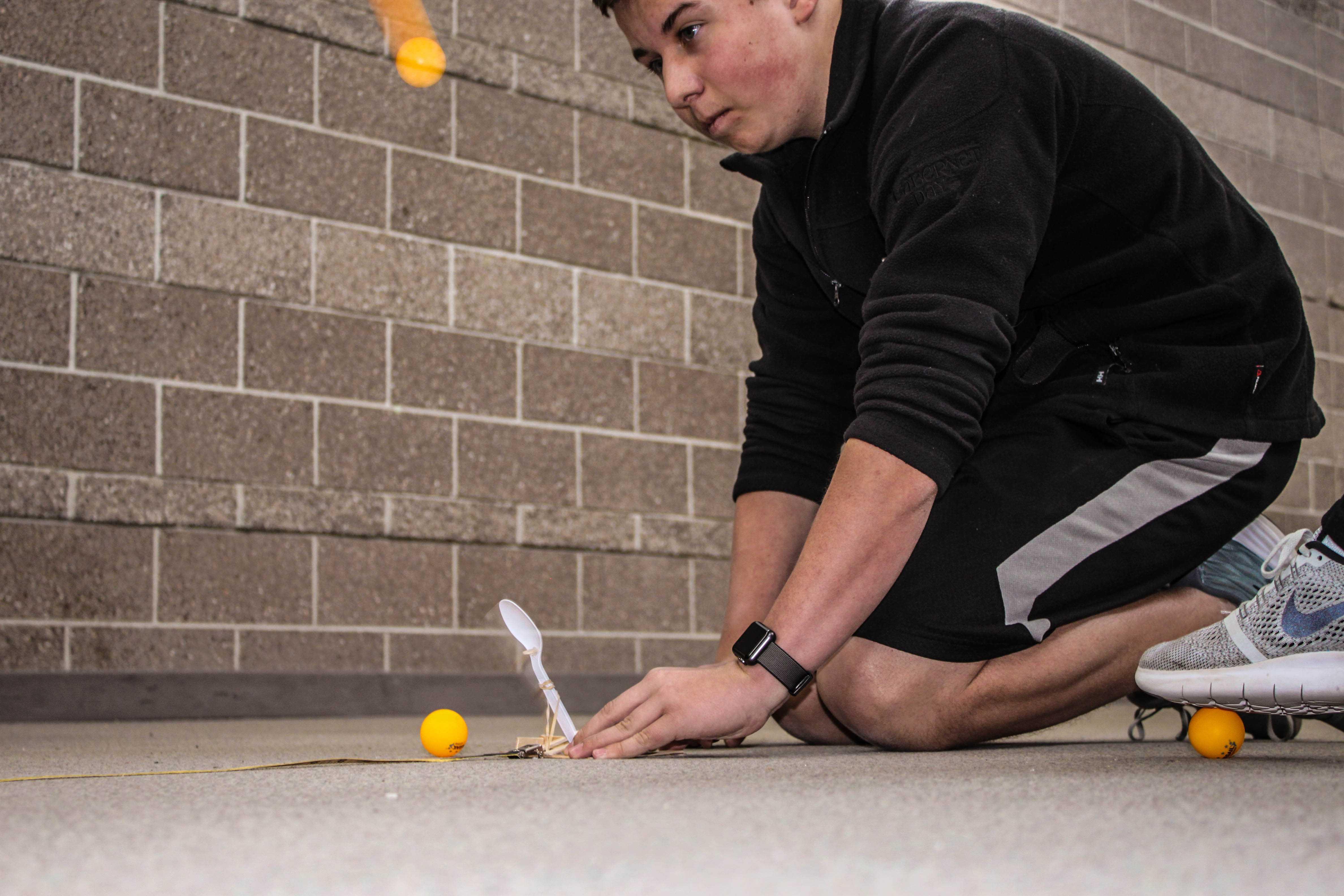 PHOTOS: Engineering I Catapults