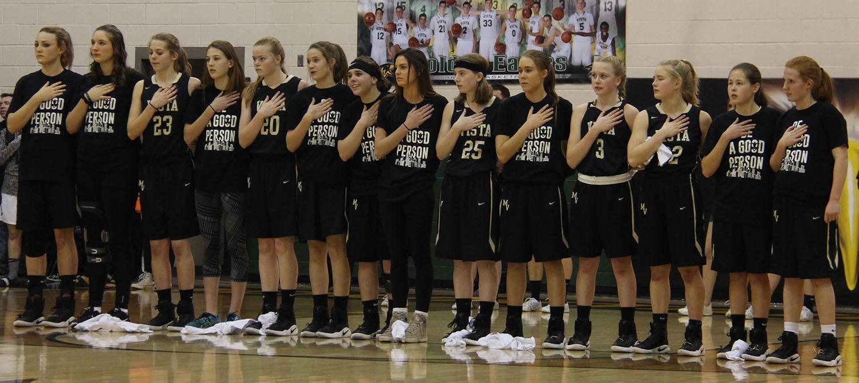 PHOTOS: Women's Varsity Basketball vs. Rock Canyon