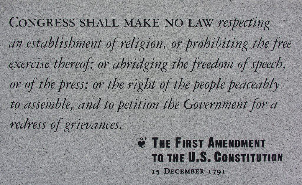 The+State+Of+The+First+Amendment