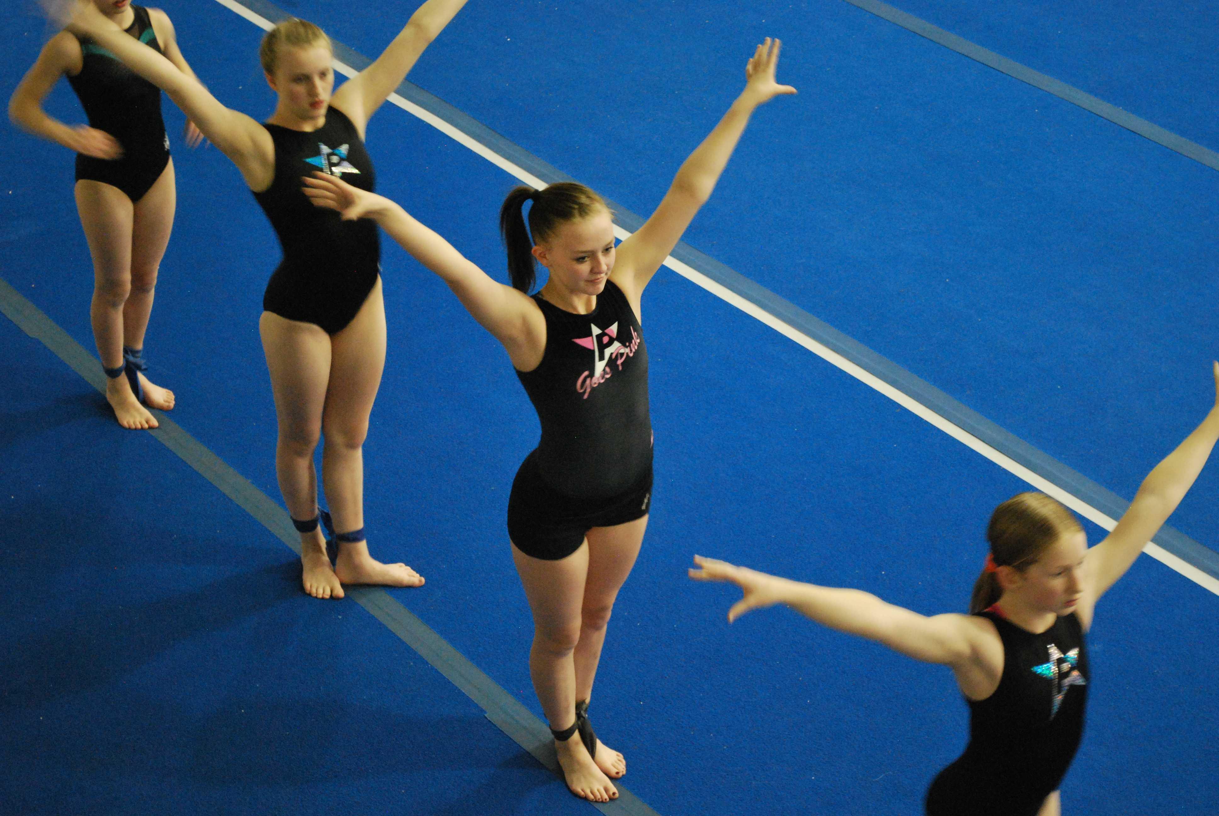 Hailey Larson and Gymnastics