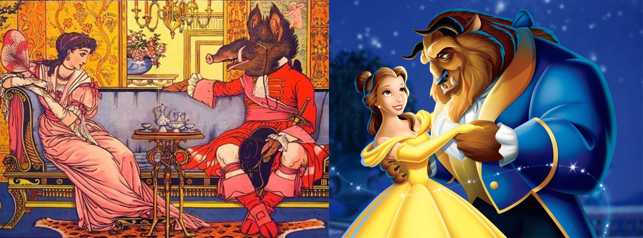 "A Brief History Behind ""Beauty and the Beast"""