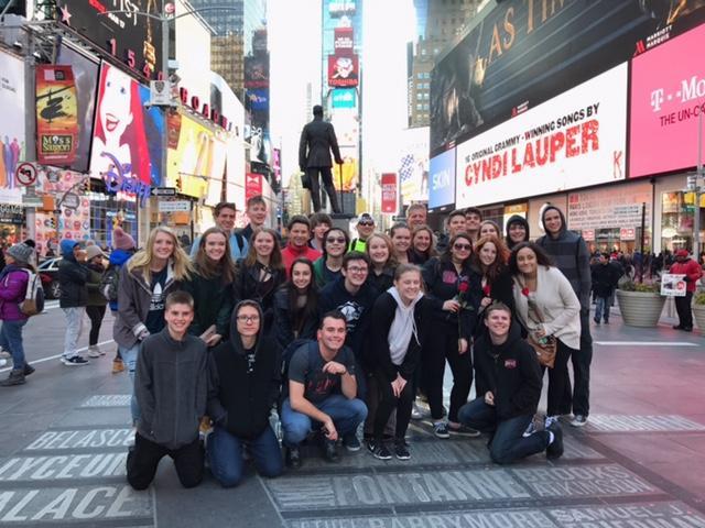 Mountain Vista Choir in New York City