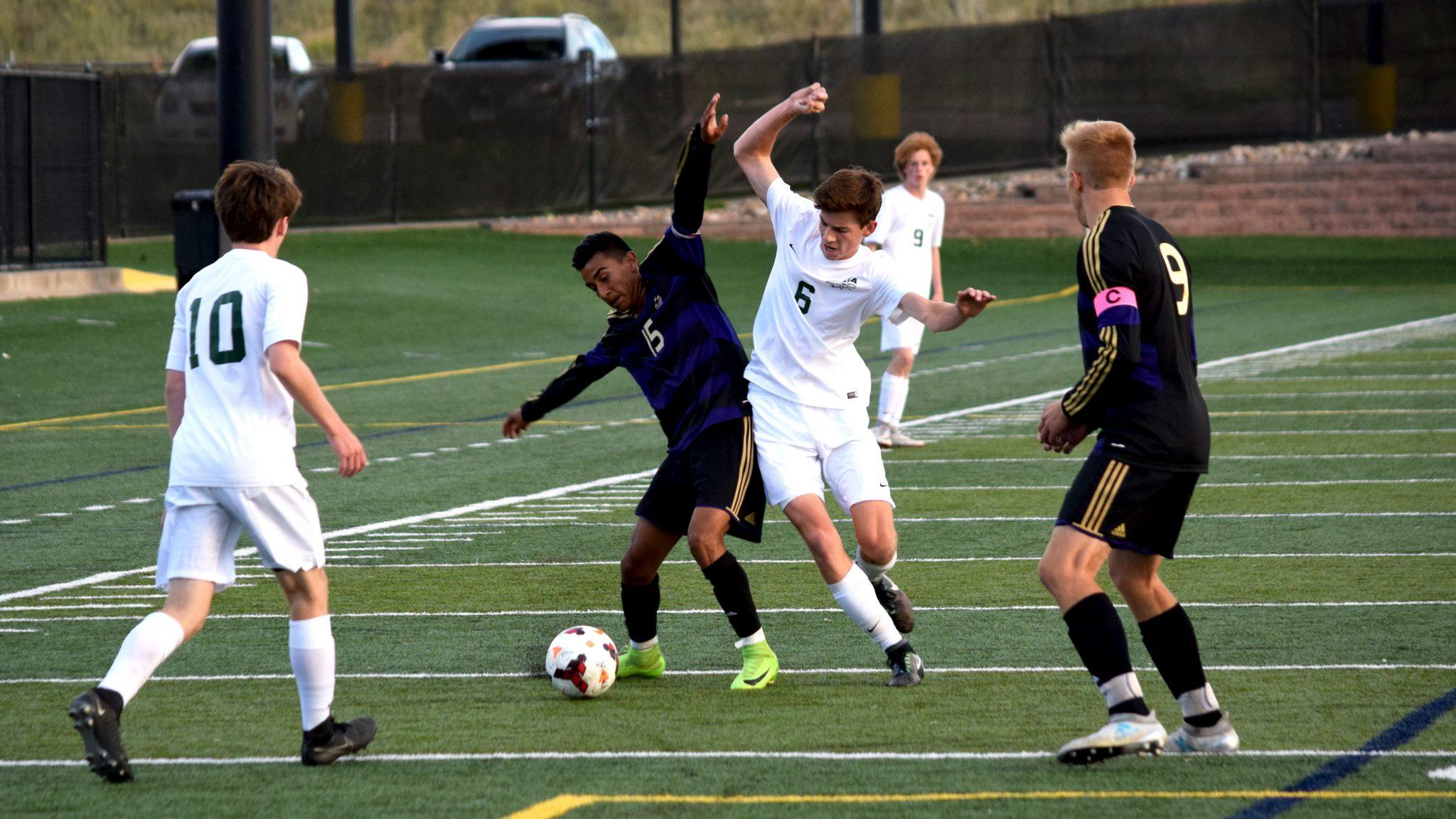 PHOTOS: Men's Varsity Soccer vs. Ft. Collins
