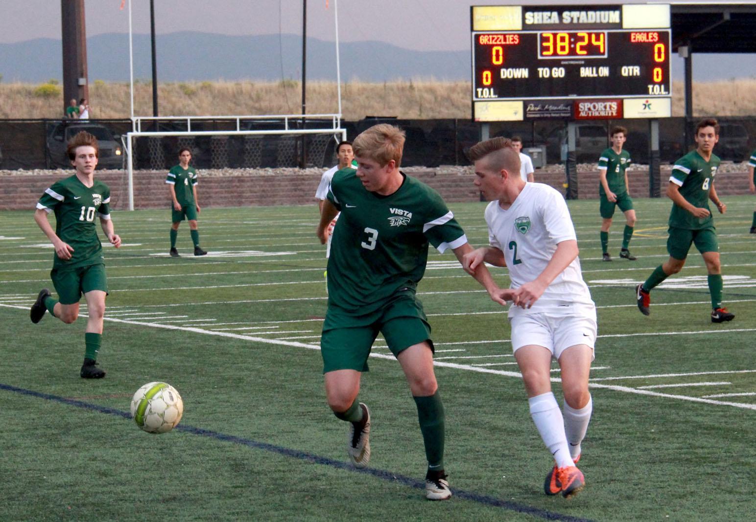 PHOTO GALLERY: Boys Varsity Soccer vs ThunderRidge