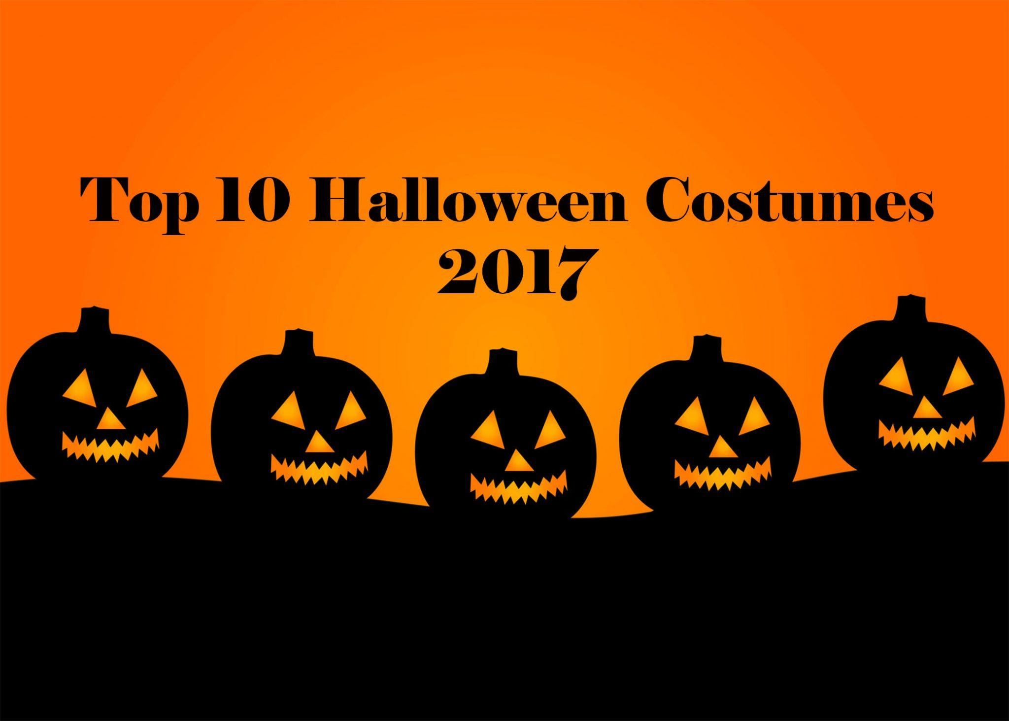 OPINION: Top 10 Most Popular Halloween Costumes of 2017
