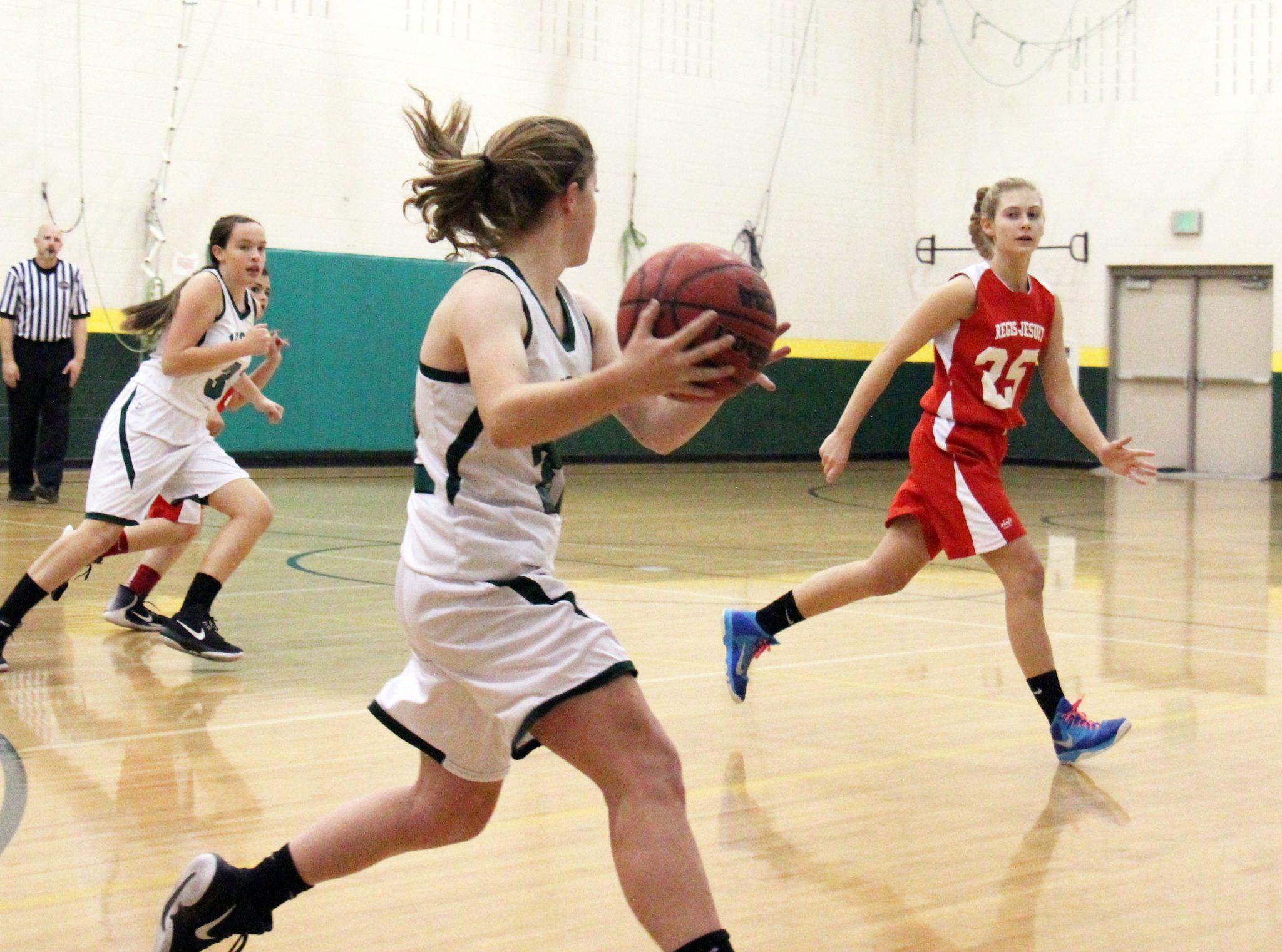 Freshman Girls Basketball Takes the Win