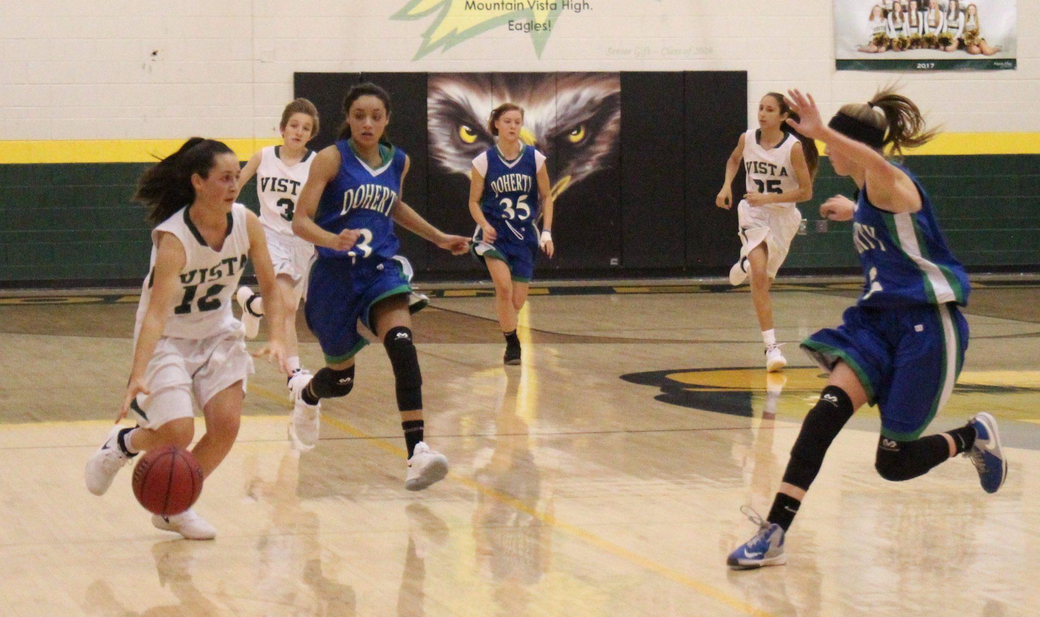 Photo Gallery: Women's Sophomore Basketball vs. Doherty High School