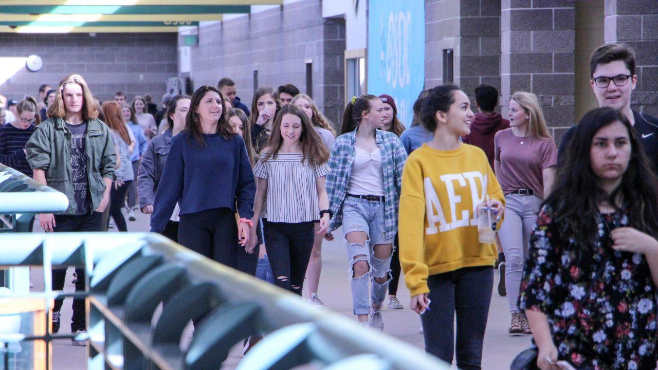 PHOTOS: Mountain Vista's Walkout