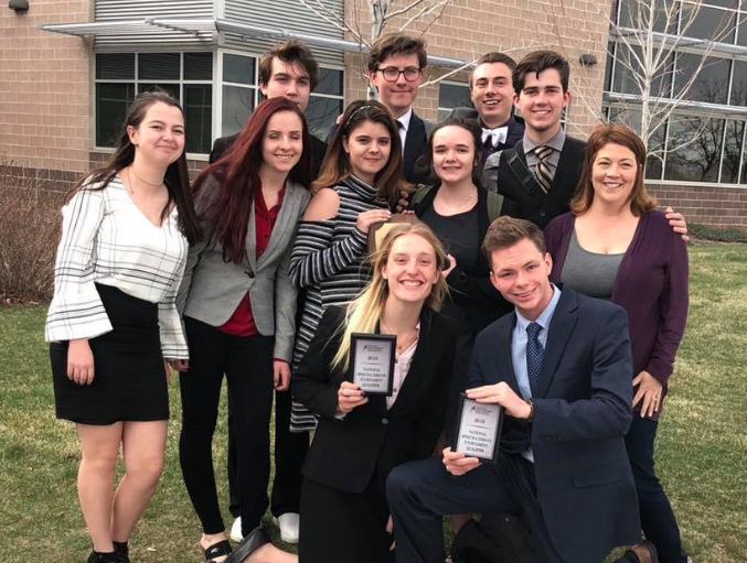 Speech and Debate Ends their Season with Success