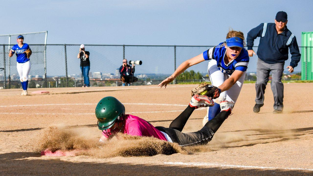 PHOTOS: Varsity Softball vs. Highlands Ranch