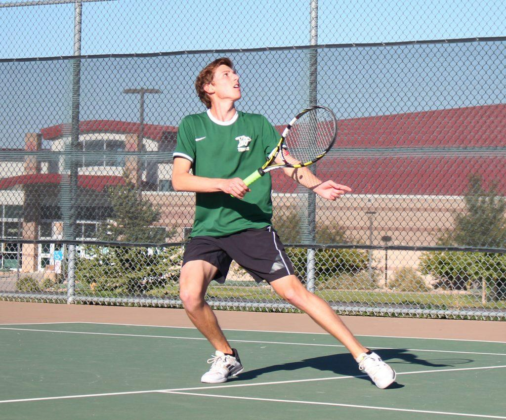 PHOTOS: Varsity Mens Tennis vs. Rock Canyon