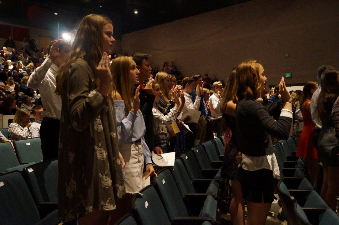 PHOTOS: National Honor Society Induction Ceremony
