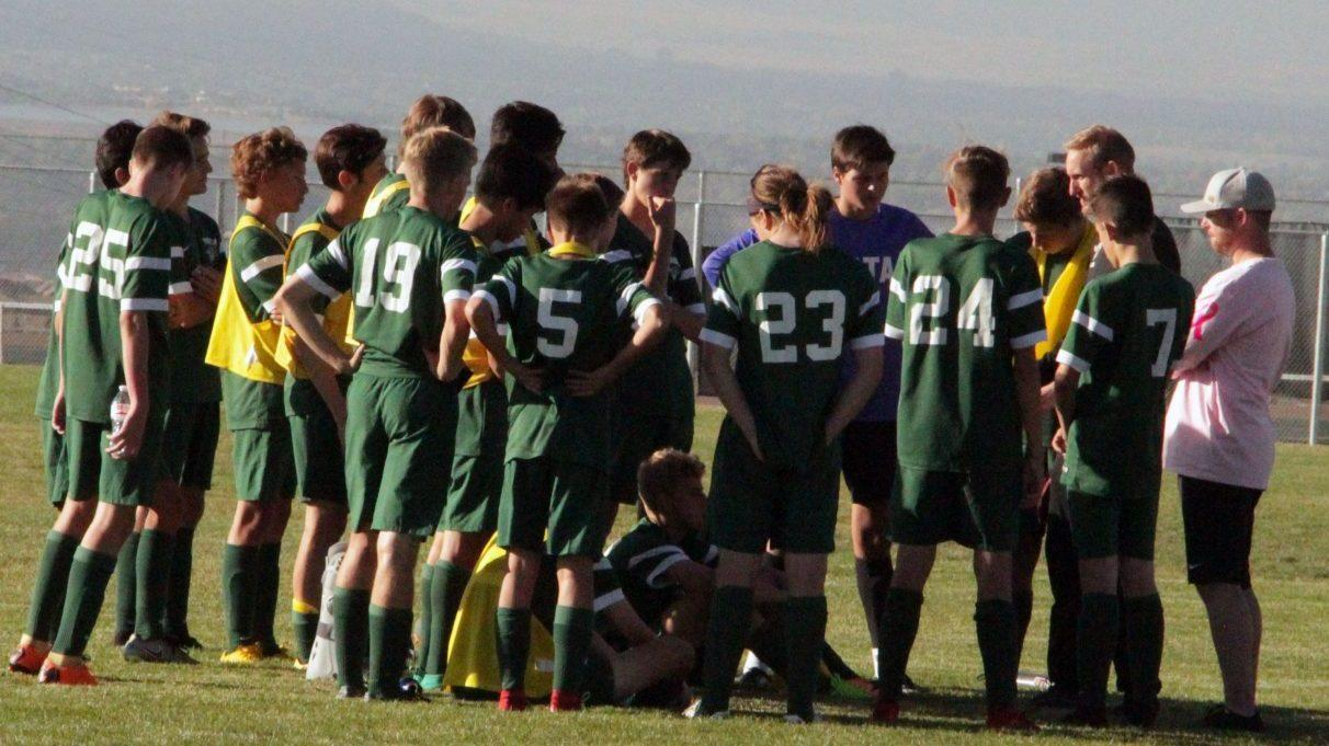 PHOTOS: JV Men's Soccer vs Legend