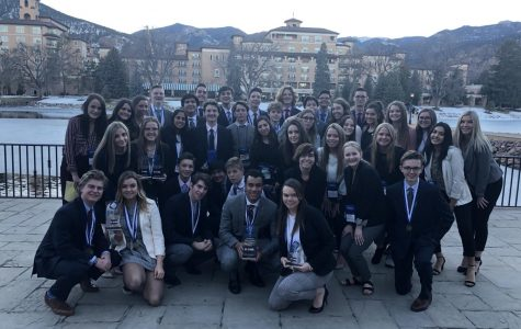 DECA State Success