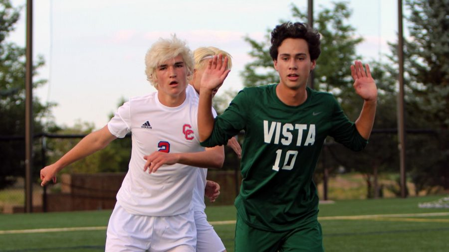 Varsity Boys Soccer vs. Cherry Creek PHOTO GALLERY